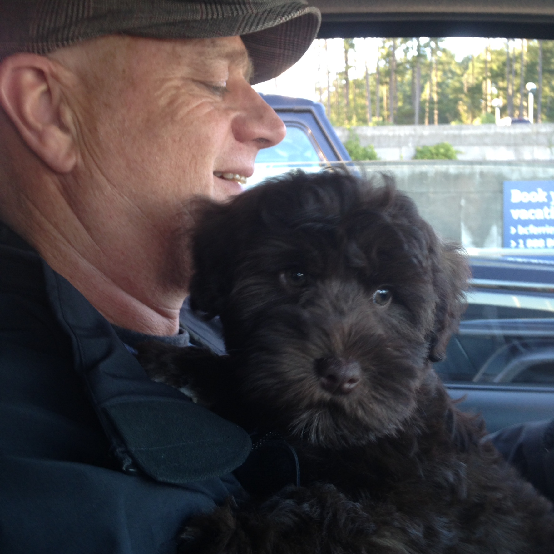Danno in his Dads arms